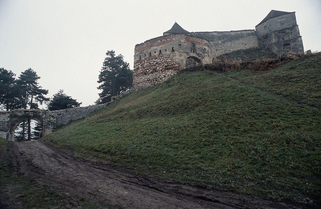 In einem Schloss treibt Dracula sein blutiges Unwesen und hält auch noch die schöne Elizabeth gefangen. Um sie zu retten, reisen Pater Uffizi und Lu... - Bildquelle: Buena Vista Home Entertainment, Inc. All rights reserved