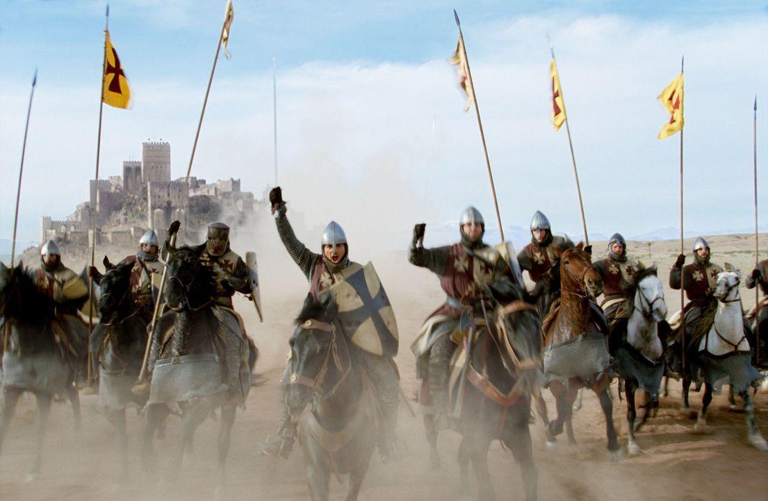Guys Angriff auf eine friedliche Gruppe Saladins Anhänger hat für Jerusalem furchtbare Folgen ... - Bildquelle: David Appleby 2015 Fox and its related entities. All rights reserved.