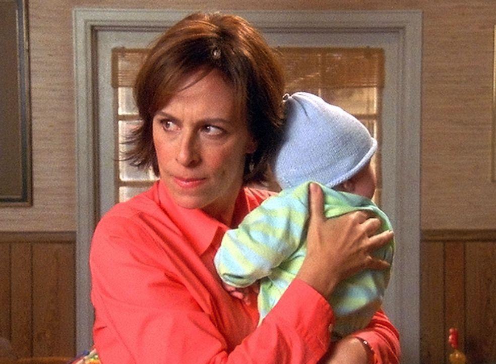 Lois (Jane Kaczmarek) ist am Ende. Sie hat tagelang nicht geschlafen und ist deshalb zu nichts mehr zu gebrauchen ... - Bildquelle: TM +   2000 Twentieth Century Fox Film Corporation. All Rights Reserved.