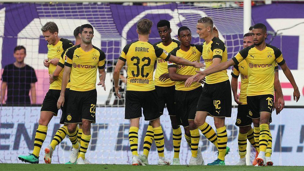 Borussia Dortmund hat das Testspiel gegen Austria Wien gewonnen - Bildquelle: imago
