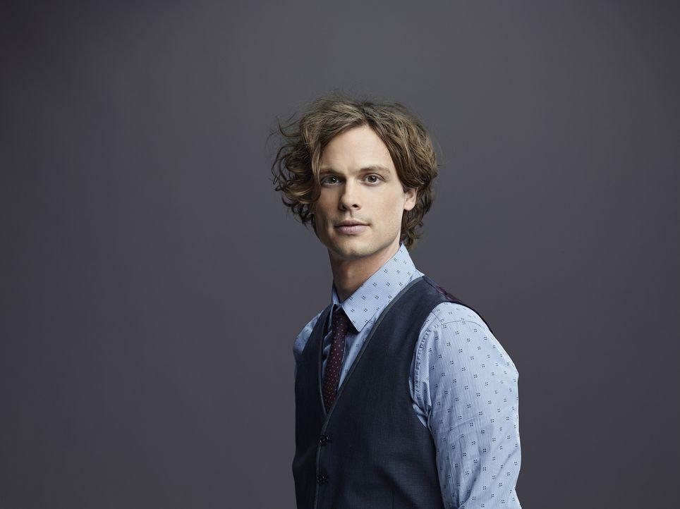 (10. Staffel) - Einer der klügsten Köpfe, die das FBI zu bieten hat: Dr. Spencer Reid (Matthew Gray Gubler) ... - Bildquelle: Cliff Lipson ABC Studios