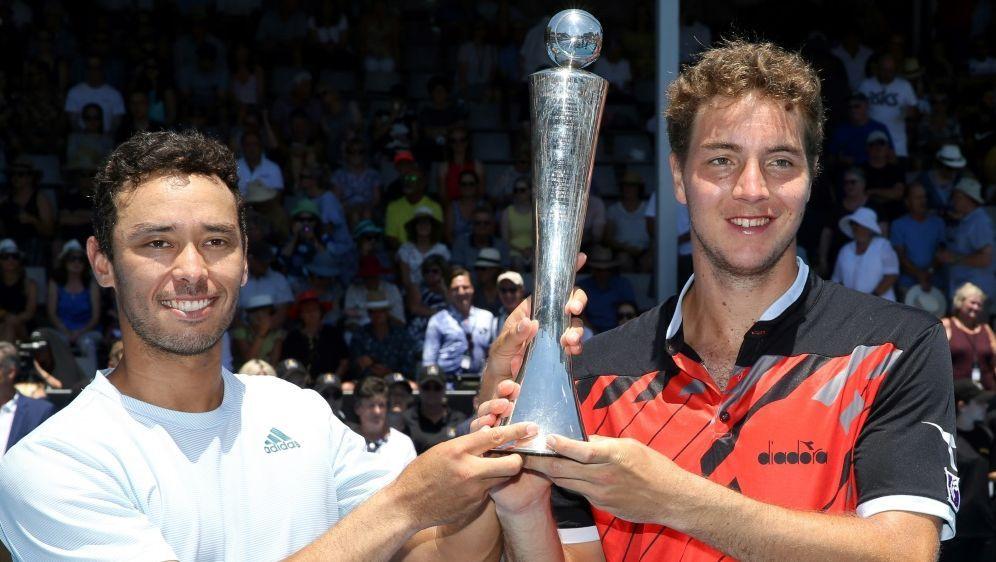 Struff (r.) und McLachlan gewinnen in Auckland - Bildquelle: AFPSIDMICHAEL BRADLEY