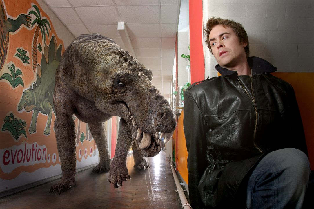 Hat Todesangst vor dem Monster: Stephen (James Murray) ... - Bildquelle: ITV Plc