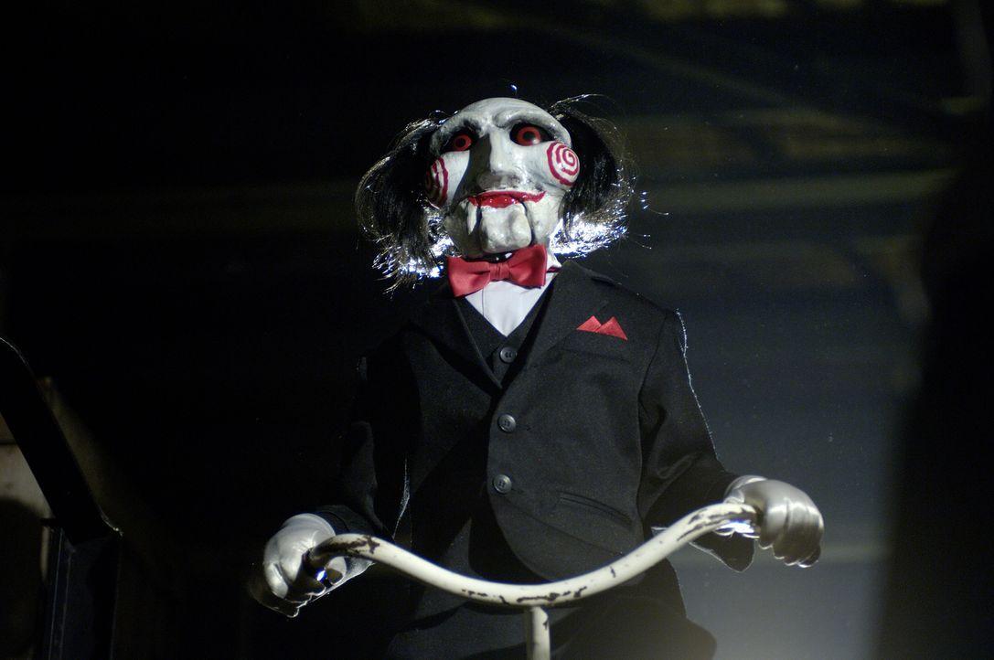 Der Jigsaw (Tobin Bell) lebt! Und er hat sich neue Spiele ausgedacht ... - Bildquelle: Kinowelt Filmverleih