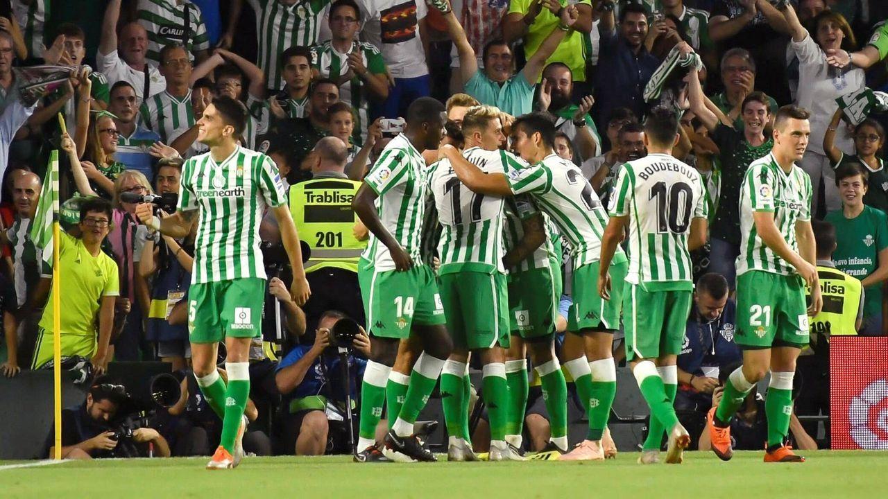 Platz 9: Real Betis Sevilla (Spanien) - Bildquelle: Imago