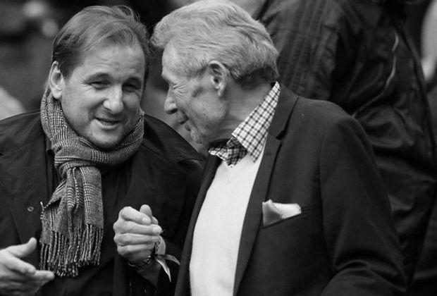 Hamburger SV: Ex-Präsident Wolfgang Klein (r.) ist tot