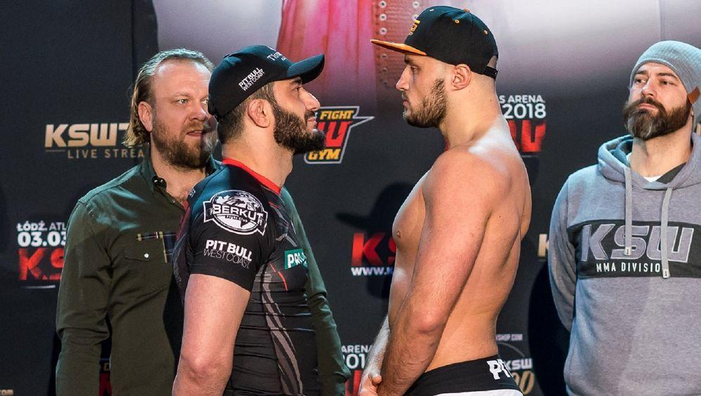 Mamed Khalidov und Tomasz Narkun sind bereit für KSW 46 - Bildquelle: KSW MMA