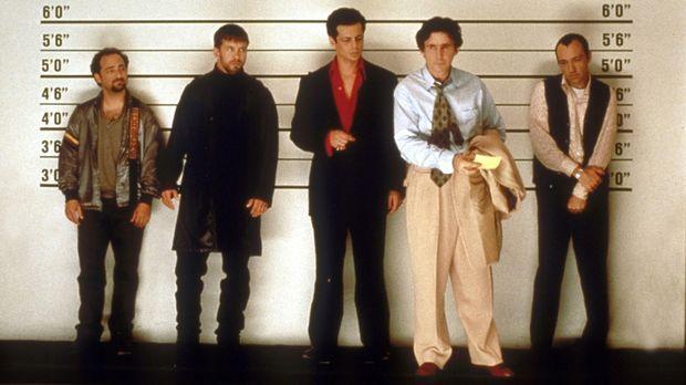 Die üblichen Verdächtigen: (v.l.n.r.) Hockney (Kevin Pollack), McManus (Steph...