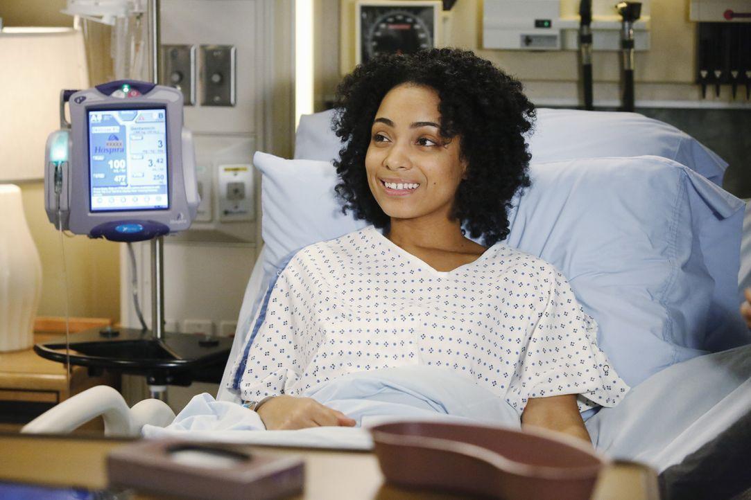 Callie und Arizona entscheiden sich, noch ein Kind zu bekommen, während Nova Jenkins (Nova Jenkins) auf einen OP-Termin wartet ... - Bildquelle: ABC Studios