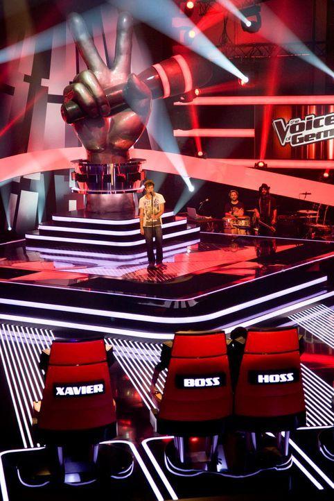 the-voice-stf01-epi02-41-max-richard-huebner-prosiebenjpg 1182 x 1772 - Bildquelle: Richard Hübner - ProSieben