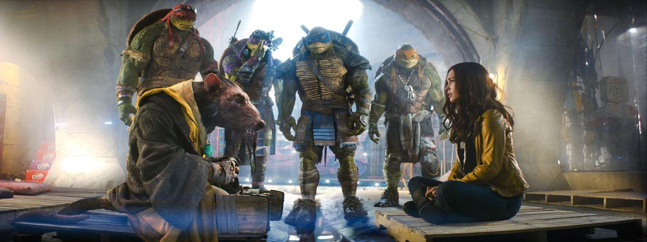 teenage-mutant-ninja-turtles-31-Paramount-Pictures - Bildquelle: Paramount Pictures Corporation