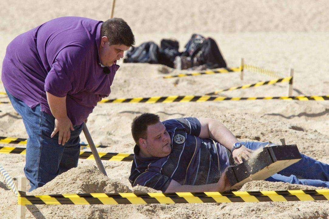 """Faulenzen ist bei """"The Biggest Loser"""" fehl am Platz, bei den Wettkämpfen ist voller Einsatz gefragt. Unter der Aufsicht der Trainer werden die Kandi... - Bildquelle: Enrique Cano SAT.1"""