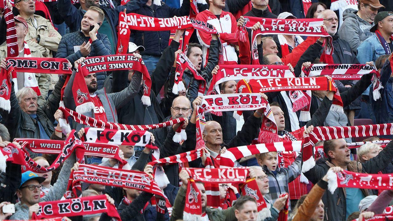 Platz 2: 1. FC Köln - Bildquelle: imago/Nordphoto