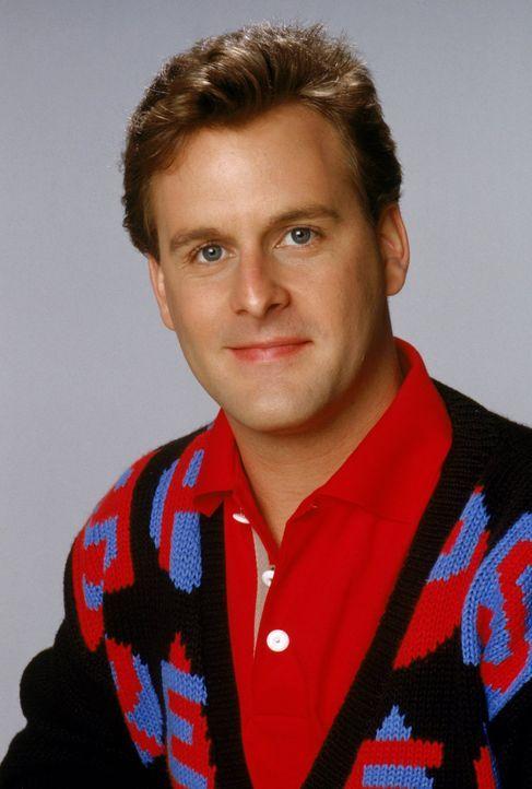 (3. Staffel) - Als Teil einer großen, verrückten Familie fühlt sich Joey (Dave Coulier) am wohlsten ... - Bildquelle: Warner Brothers Inc.