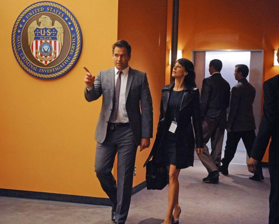 Während der Ermittlungen in einem neuen Fall muss Tony (Michael Weatherly, l.) mit seiner ehemaligen Verlobten Wendy Miller (Perrey Reeves, r.) zusa... - Bildquelle: 2012 CBS Broadcasting Inc. All Rights Reserved.