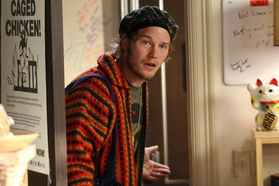 Summer engagiert sich gemeinsam mit Che (Chris Pratt), einem Kommilitonen für den Umwelt- und Tierschutz ... - Bildquelle: Warner Bros. Television
