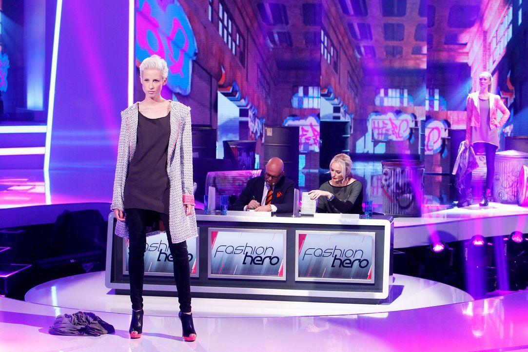Fashion-Hero-Epi01-Show-40-ProSieben-Richard-Huebner - Bildquelle: ProSieben / Richard Huebner