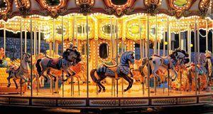 Karusselle gehören zur Oktoberfest-Geschichte seit jeher dazu.