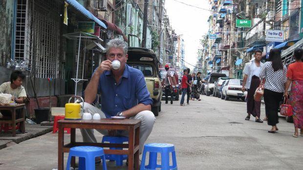 Begibt sich auf eine kulinarische Reise nach Myanmar: Anthony Bourdain ... ©...