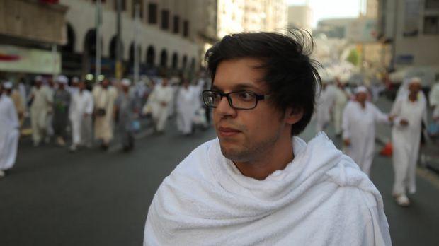Mekka, die heiligste Stadt der islamischen Welt. Zur Hadsch kommen einmal im...