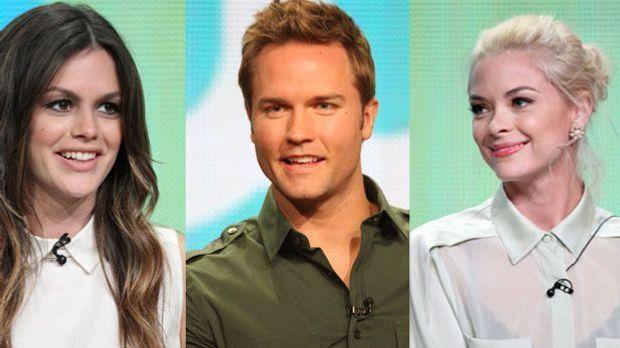 Das sind die deutschen Stimmen der Schauspieler Rachel Bilson, Jaime King und...