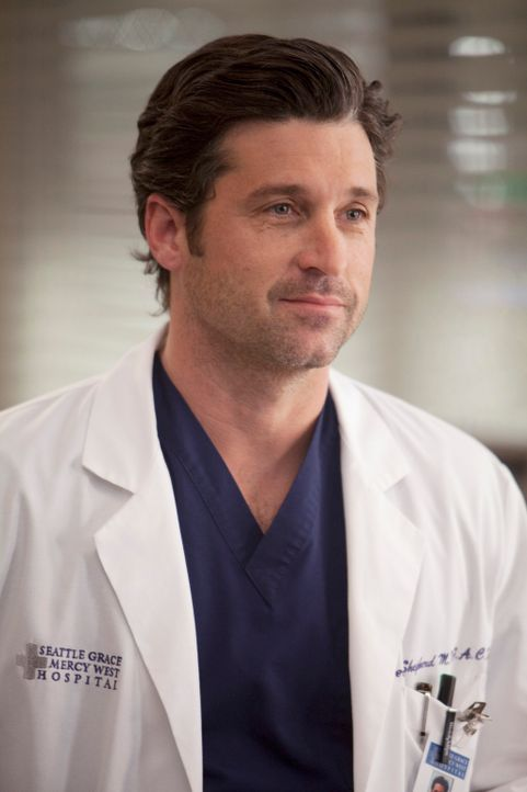 Unterstützt Meredith wo er nur kann: Derek (Patrick Dempsey) ... - Bildquelle: Touchstone Television