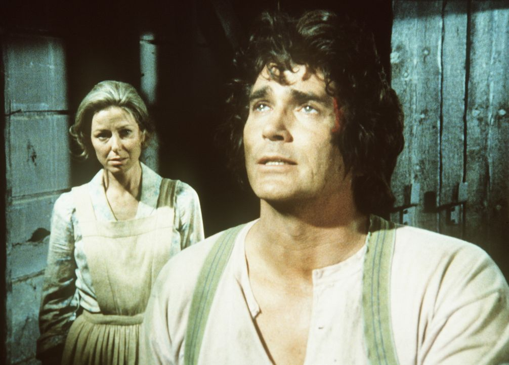 Caroline (Karen Grassle, l.) und ihr Mann Charles (Michael Landon, r.) verstehen die Welt nicht mehr ... - Bildquelle: Worldvision