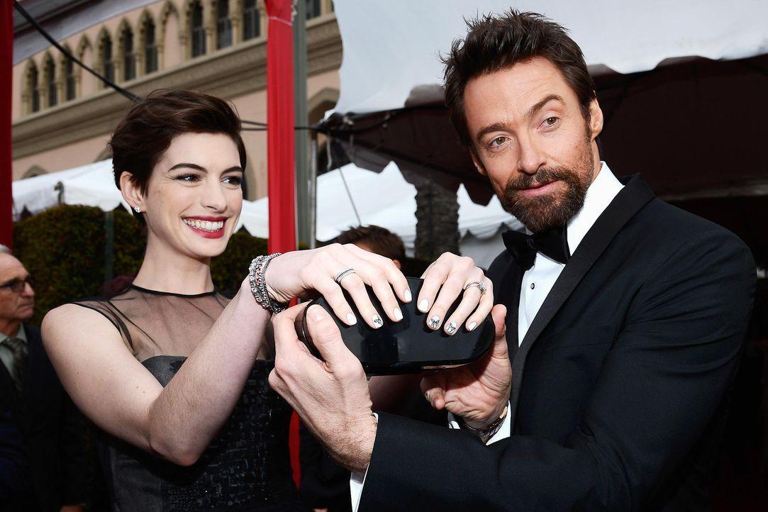 screen-actors-guild-awards-anne-hathaway-hugh-jackman-13-01-27-getty-afpjpg 2100 x 1400 - Bildquelle: getty-AFP