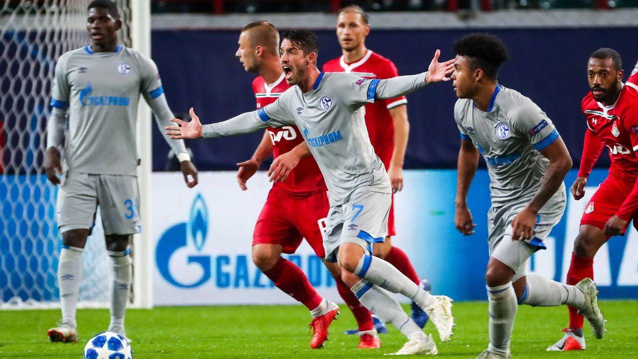 FC Schalke 04 gegen Lokomotive Moskau in der Einzelkritik - Bildquelle: Imago