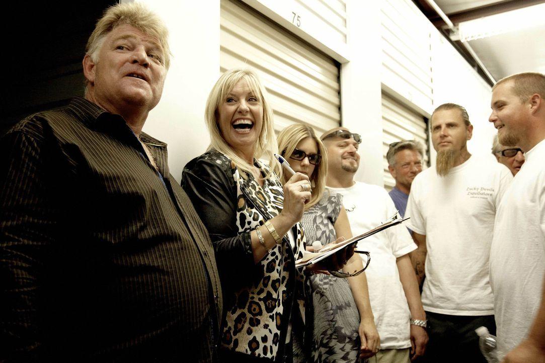 (1. Staffel) - (v.l.n.r.) Dan Dotson; Laura Dotson; Brandi Schulz; Jarrod Schulz - Bildquelle: 2010 AETN