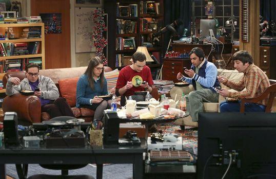 The Big Bang Theory - Die Clique ist längst vom Virus des Technologie-Zeitalt...