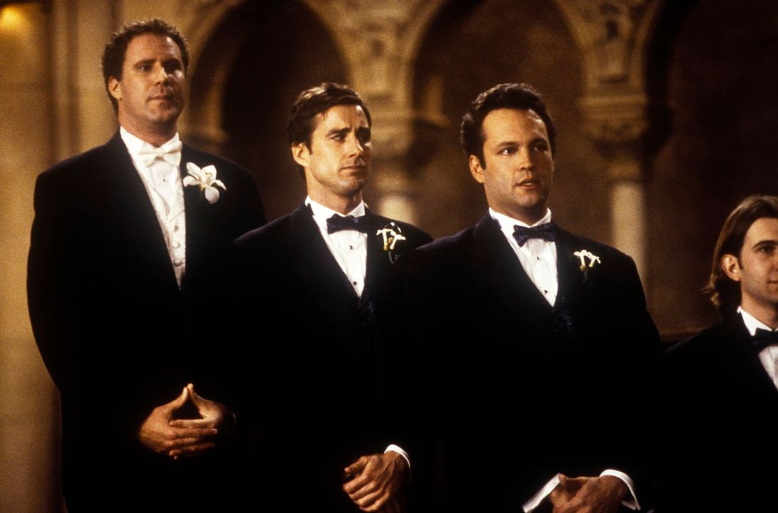 (v.l.n.r.) Frank (Will Ferrell), Mitch (Luke Wilson) und Beanie (Vince Vaughn) sind an der ersten großen Wegkreuzung in ihrem Leben angelangt: Sie k... - Bildquelle: DreamWorks SKG