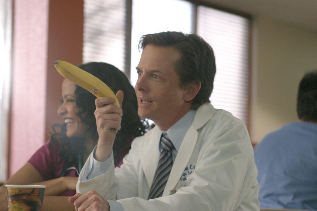 Interessiert sich nur noch für die geheime Oase der Ruhe: Dr. Casey (Michael J. Fox) ... - Bildquelle: Touchstone Television