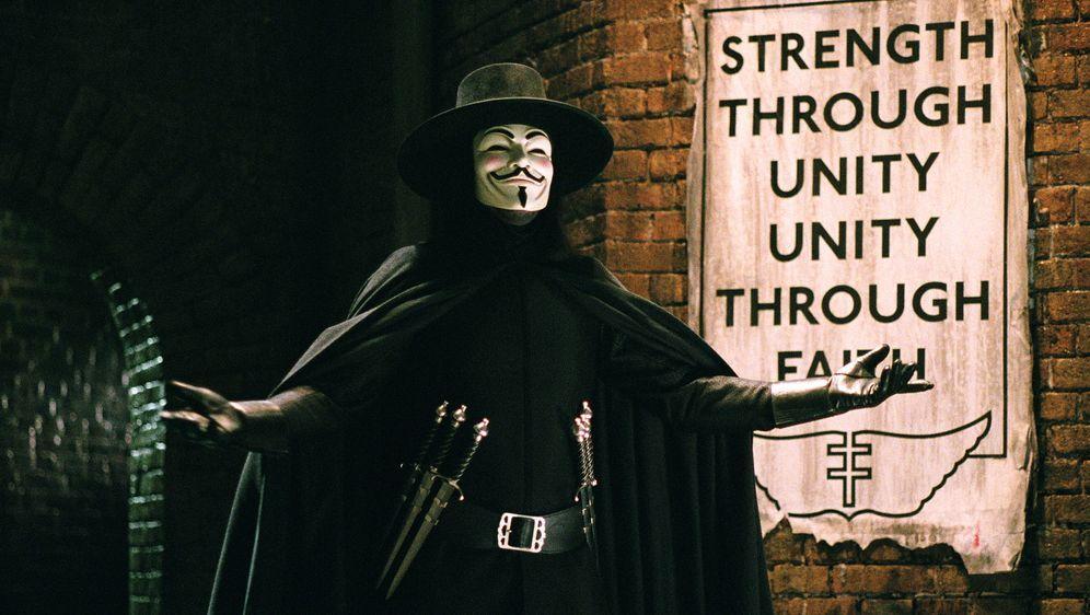 V wie Vendetta - Bildquelle: Warner Bros. Pictures