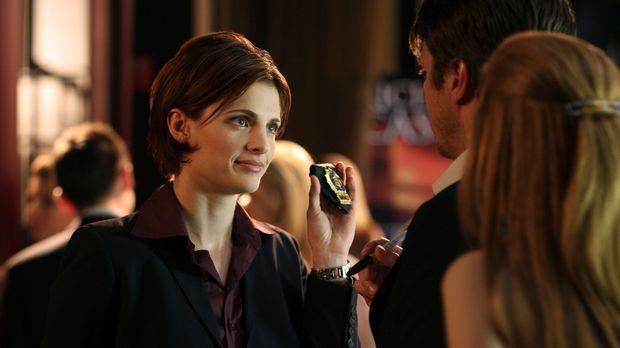 Richard (Nathan Fillion, M.) und Alexis Castle (Molly C. Quinn, r.) sind sehr...