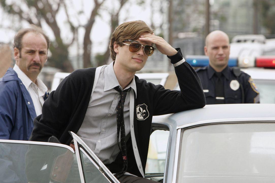 Ein grausamer Fall beschäftigt Reid (Matthew Gray Gubler, M.) und seine Kollegen ... - Bildquelle: Touchstone Television