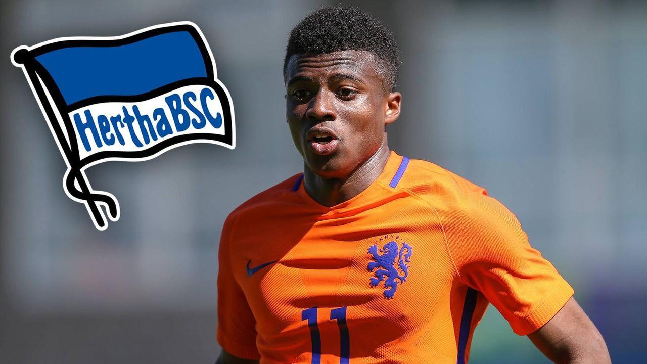 Javairo Dilrosun (Zugang Hertha BSC) - Bildquelle: imago