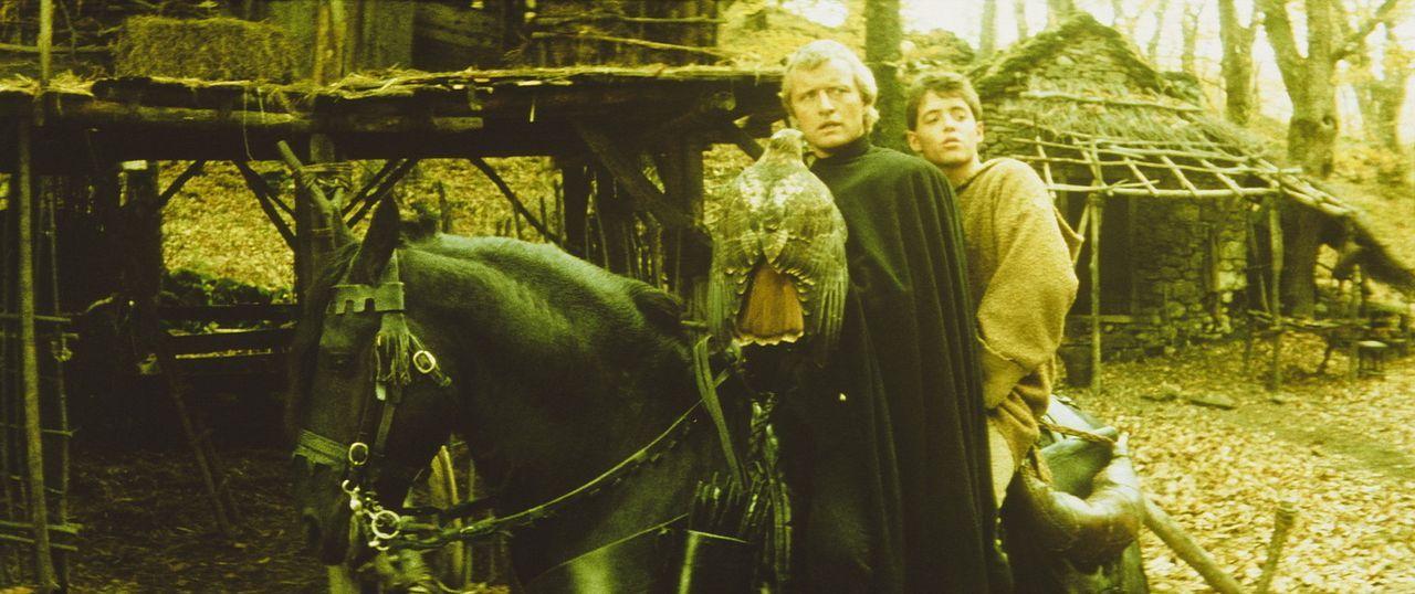 Bevor ihn die Häscher des grausamen Bischofs von Aquila einsperren können, wird der junge Taschendieb Phillipe (Matthew Broderick, r.) von einem g... - Bildquelle: 20TH CENTURY FOX FILM CORP. INC