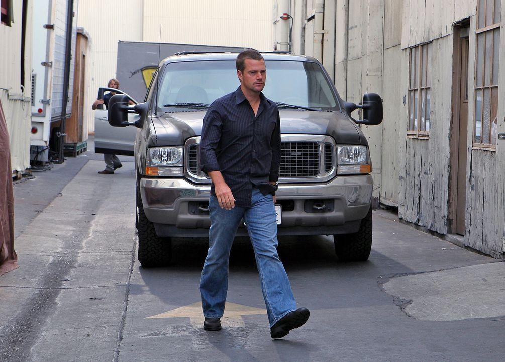 Als Special Agent Dan Williams vom NCIS von einem Killer-Kommando umgebracht wird, werden Callen (Chris O'Donnell) und seine Kollegen mit dem Fall v... - Bildquelle: CBS Studios Inc. All Rights Reserved.
