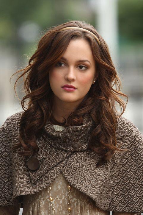 Blair (Leighton Meester) ist furchtbar enttäuscht, als sie erfährt, dass ihr Vater nicht zu Thanksgiving nach Hause kommt ... - Bildquelle: Warner Brothers
