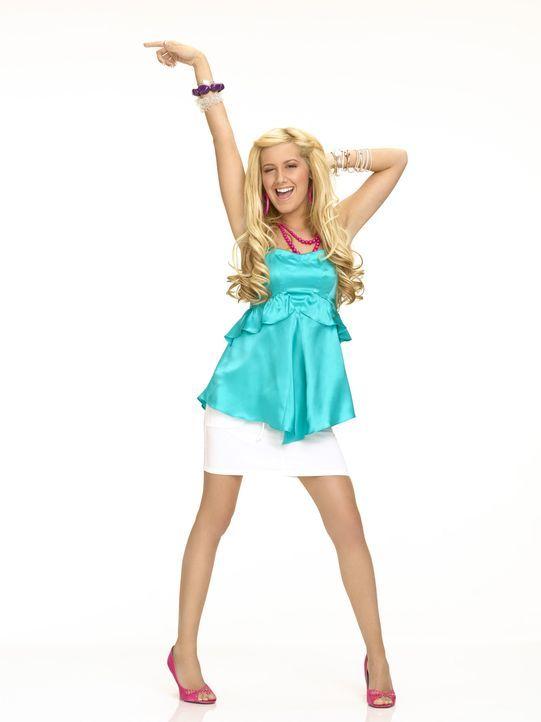 High School Biest Sharpay (Ashley Tisdale) versucht alles, um Gabriella ihren Freund Troy ausspannen. Da gelingt es ihr, ihm einen Ferienjob in den... - Bildquelle: Buena Vista International Television