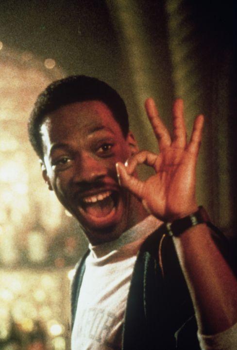 Er löst jeden Fall - auf jeden Fall! Polizist Axel Foley (Eddie Murphy) ist bestimmt nicht auf den Mund gefallen ... - Bildquelle: Paramount Pictures