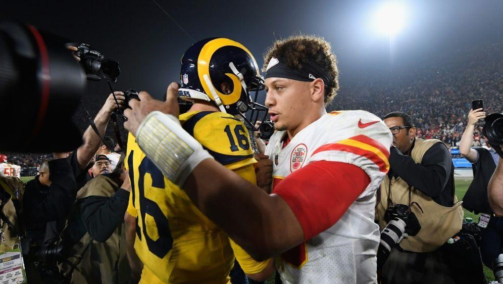e355d4074 NFL - NFL  Rams gewinnen denkwürdiges Topspiel gegen die Chiefs - Ran