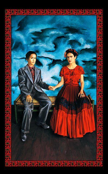 In ihren Bildern drückt Frida (Salma Hayek) ihre Emotionen aus, gnadenlos ehrlich und oft schockierend ... - Bildquelle: Buena Vista International
