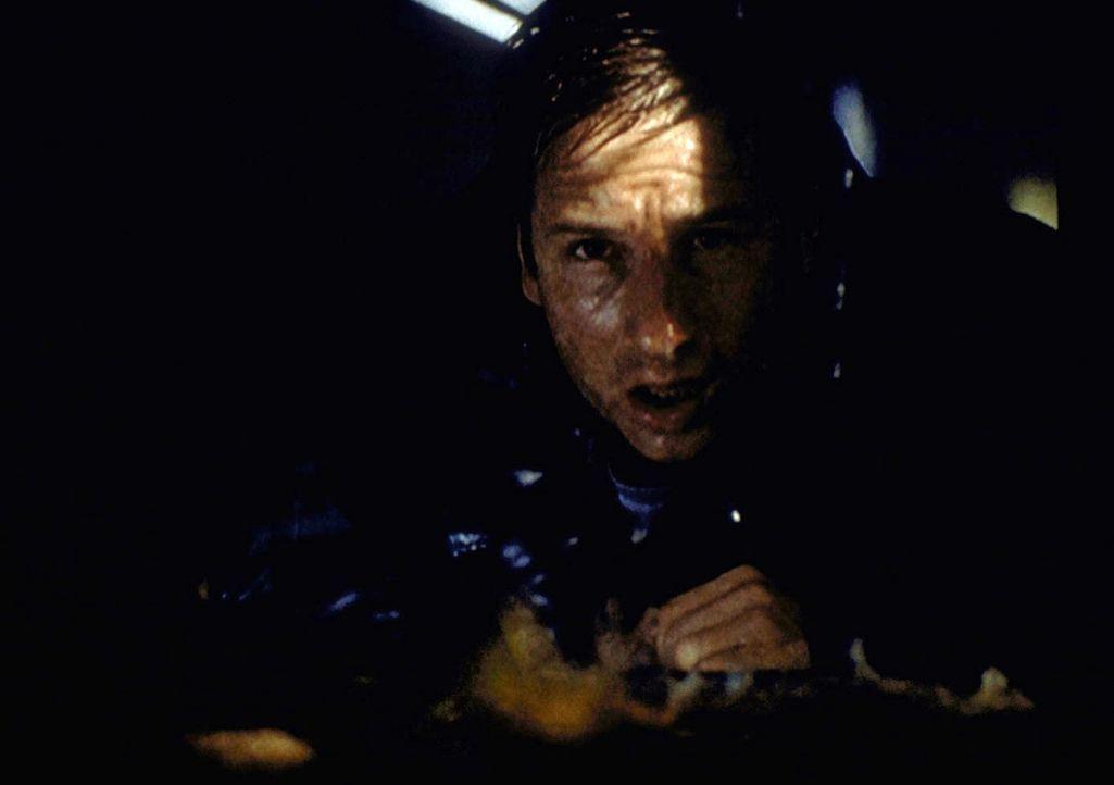 Mulder (David Duchovny) gerät während eines Hurrikans in Lebensgefahr. - Bildquelle: TM +   2000 Twentieth Century Fox Film Corporation. All Rights Reserved.