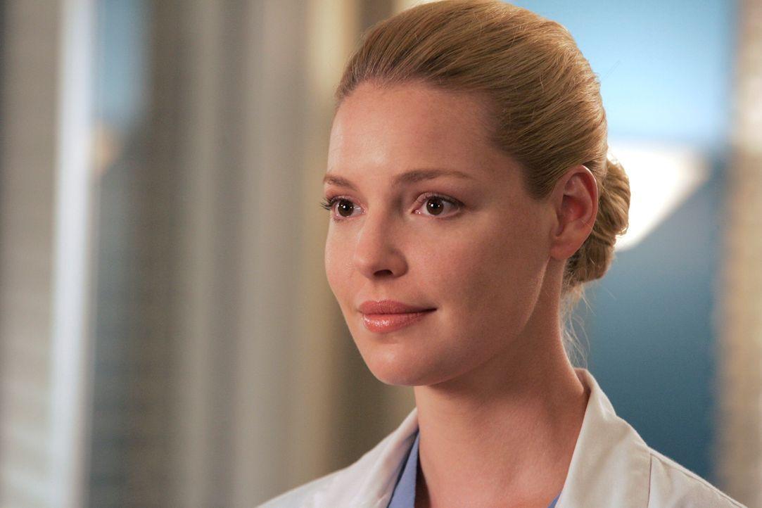 Wird Izzie (Katherine Heigl) Knochenmark spenden? - Bildquelle: Touchstone Television