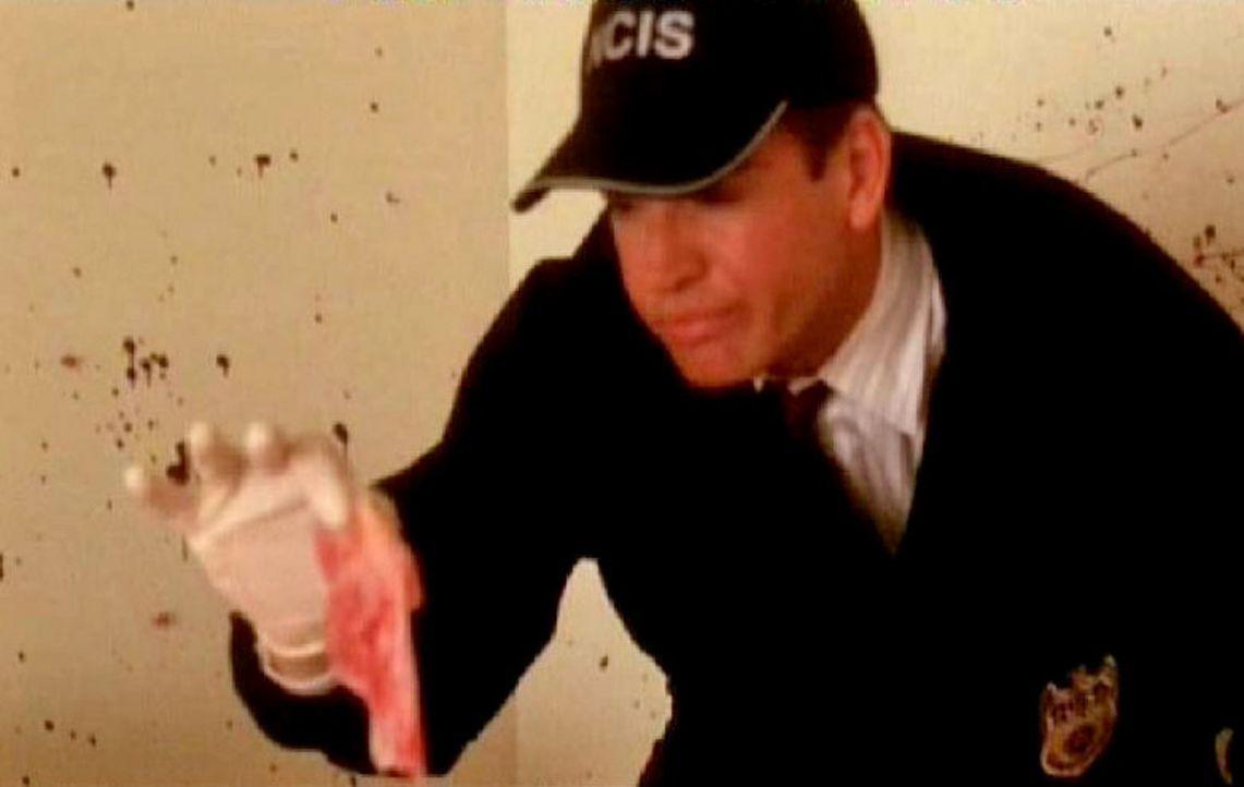 Agent DiNozzo (Michael Weatherly) nimmt die Spur auf und stößt bald auf ein Hotelzimmer, in dem Blut und Gewebefetzen verteilt sind. Bald kann das... - Bildquelle: CBS Television