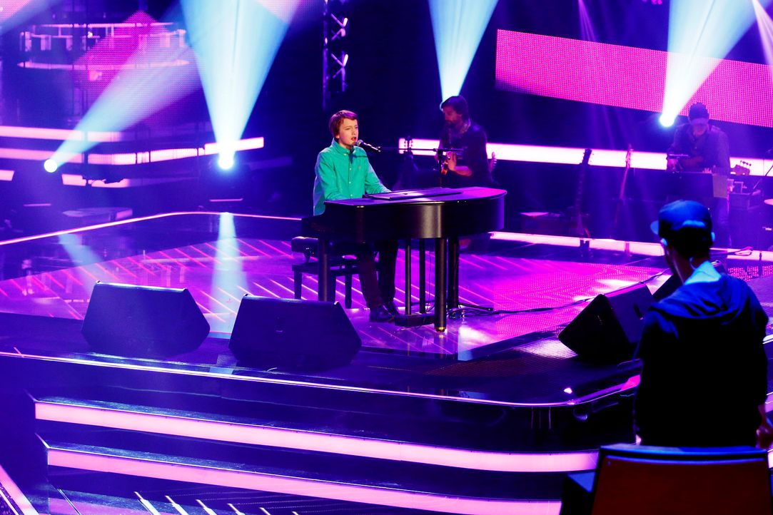 The-Voice-Kids-Stf03-Epi02-Danach-Tilman-1-SAT1-Richard-Huebner - Bildquelle: SAT.1/Richard Huebner