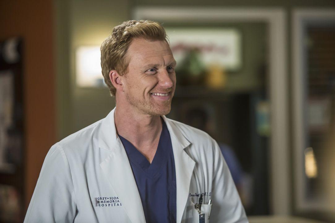 Hat eine besondere Aufgabe für Meredith, Bailey, Jackson, Callie und Jo: Owen (Kevin McKidd) ... - Bildquelle: Ron Batzdorff ABC Studios