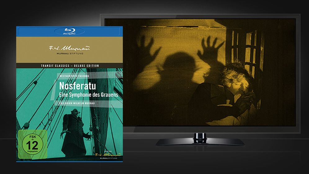 Nosferatu - Eine Symphonie des Grauens (Blu-ray Disc) - Bildquelle: Universum Film / Transit